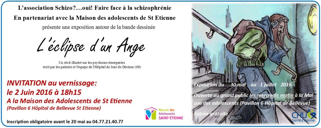 Invitation vernissage St Etienne